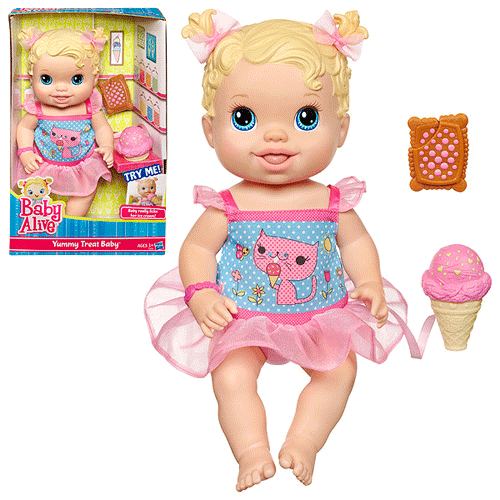 baby alive yummy tummy treat baby doll coupon get at target for as low as lisa. Black Bedroom Furniture Sets. Home Design Ideas
