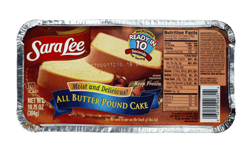 Sara Lee Pound Cake Price