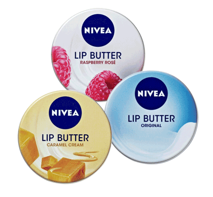 Nivea lip tin