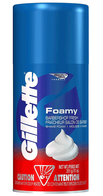 Gillette-Foamy-Shave-Cream