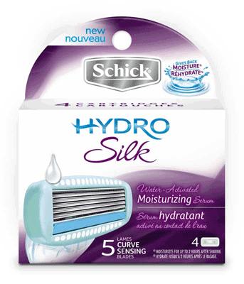 Schick-Hydro-Silk-Refills